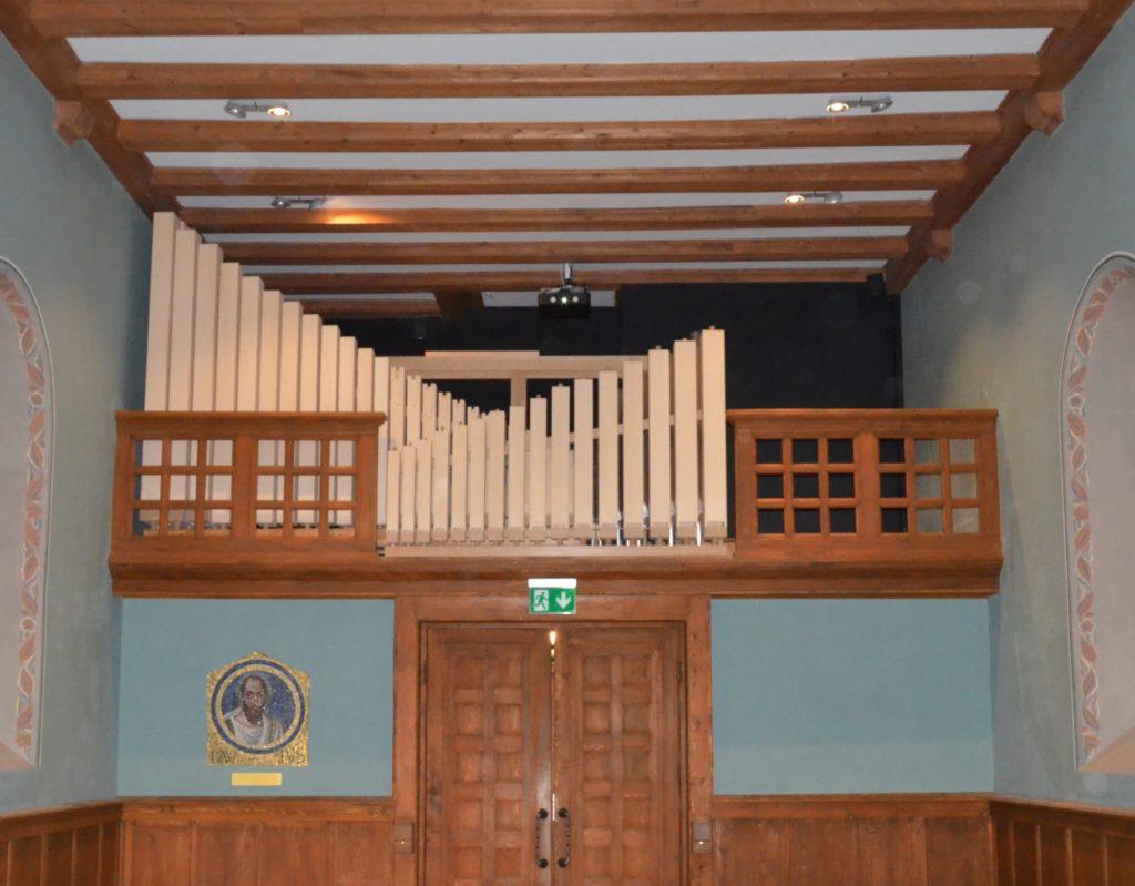 temple Crans-Céligny, orgue