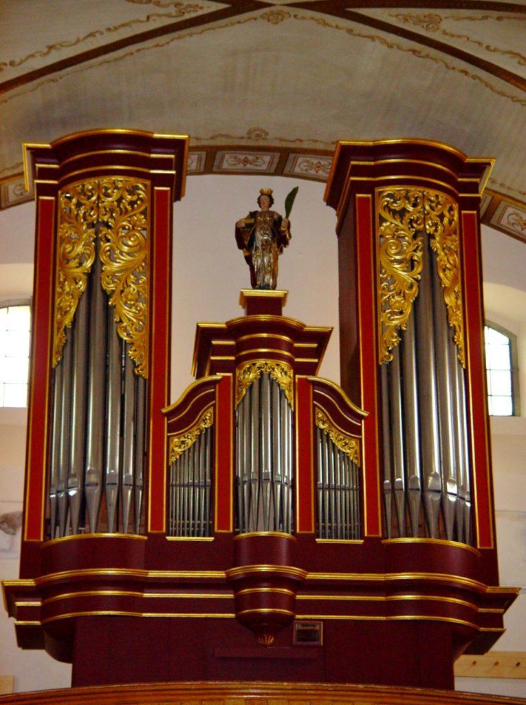 orgue de Blitzingen, construit en 2000